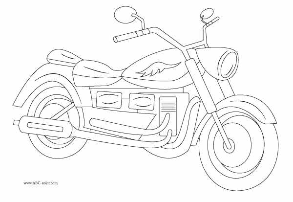 раскраски мотоциклы онлайн раскраска мотоцикл